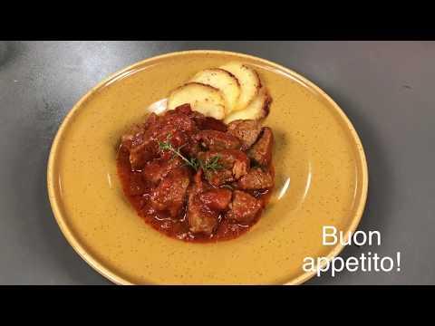 Spezzatino di carne, pronto in 15 minuti - secondi piatti