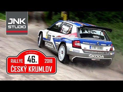 Best of 46. Rallye Český Krumlov 2018 (crash & action)