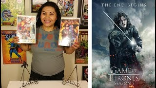 Hello Everyone, WINTER IS Here!!! Yes Game of Thrones Season 7 started 7/16/17 and here is my video on my reactions and a ...