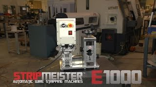 The StripMeister E1000 Electric Automatic Wire Stripper Machine
