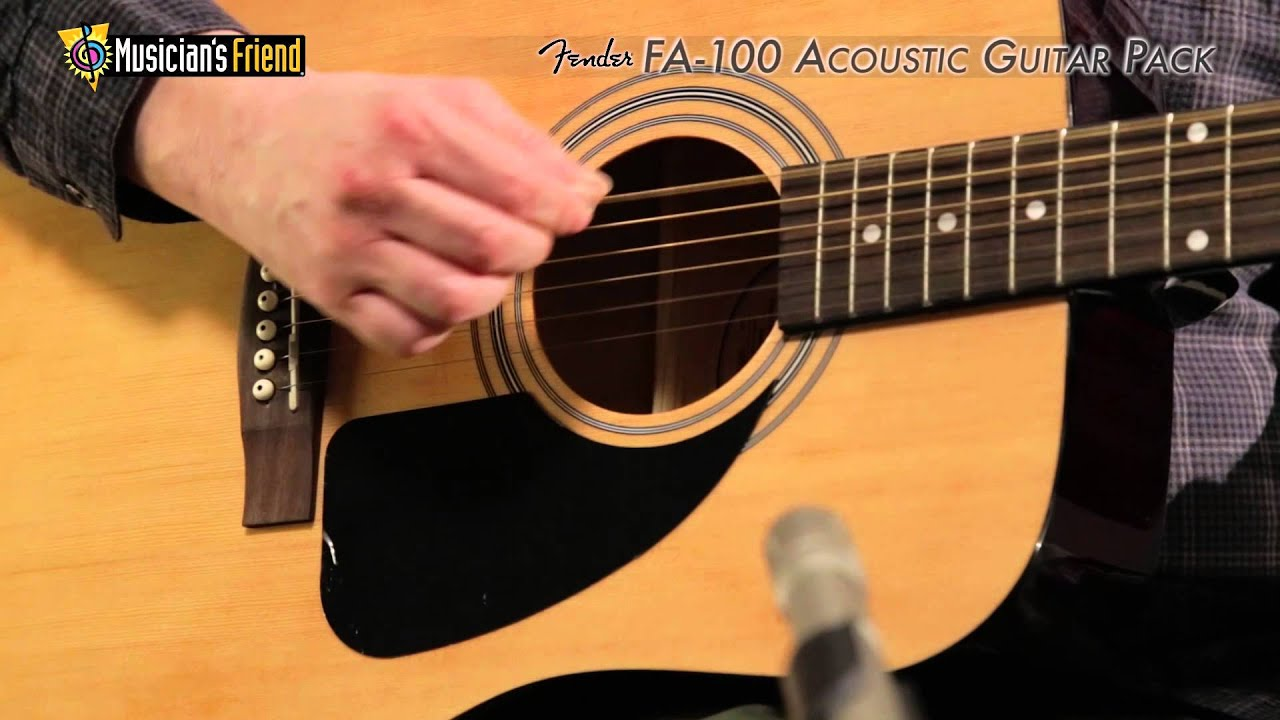 Fender FA-100 Acoustic Guitar Pack