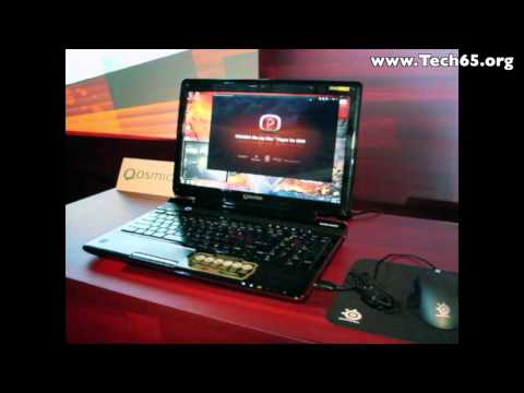 Toshiba Qosmio F750 First Look