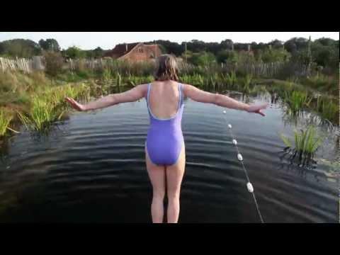 Natural, organic pool.