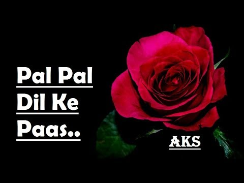 Pal Pal Dil Ke Paas | Cover by (AKS)
