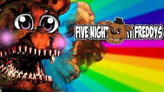 SI FIVE NIGHTS AT FREDDY'S 4 NO FUERA UN JUEGO DE TERROR   DaHorse