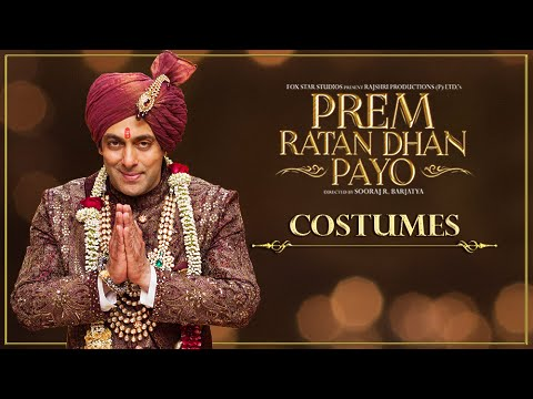 Salman Khan's Outfit In Prem Ratan Dhan Payo Made
