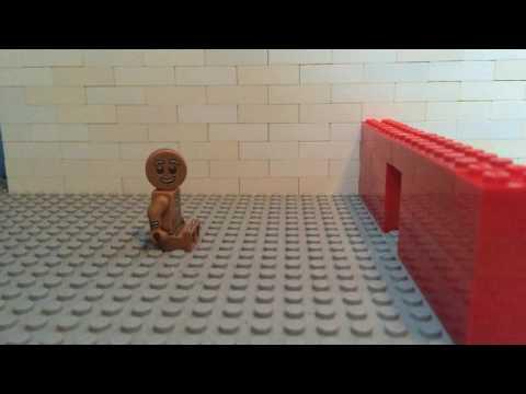 lego gingerbread man