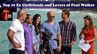 Top 10 Ex-Girlfriends and Lovers of Paul Walker 1- Denise Richards - Walker Was Rumored to Have Dated Denise in 1993 2-...