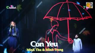 CAP DOI HOAN HAO 23.11.2014-CON YEU -  MINH THU&MINH TRUNG