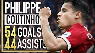 Video Philippe Coutinho - All 54 Goals & 44 Assists for Liverpool FC - 2013-2017 MP3, 3GP, MP4, WEBM, AVI, FLV Oktober 2018