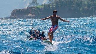 Video Kai Lenny crosses the Hawaiian Islands on hydrofoils MP3, 3GP, MP4, WEBM, AVI, FLV Desember 2018