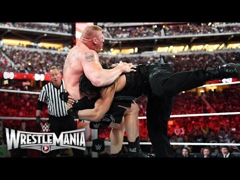 Download Roman Reigns vs. Brock Lesnar - WWE World Heavyweight Championship Match: WrestleMania 31 HD Mp4 3GP Video and MP3