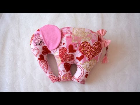 How To Make A Pillow Toy In The Form Of An Elephant - DIY Home Tutorial - Guidecentral