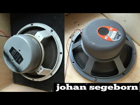 Altec Lansing Vs JBL Guitar Speakers