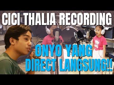 The Onsu Family - Kompak banget! Cici Thalia recording, Onyo yang direct langsung!