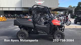 8. 2019 Honda Pioneer 700 Deluxe