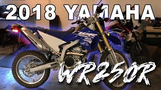 1. MY NEW 2018 YAMAHA WR250R