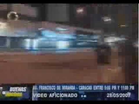 Manifestantes Venezolanos son atacados con armas de fuego