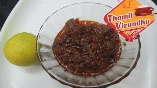 inji poondu thokku / pickle - in tamil - ginger garlic pickle recipe -