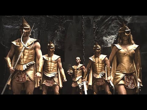 [HD] Immortals (2011) - Gods Full Fight & Final Scene