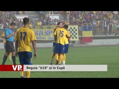 """Regula """"U19"""" și în Cupă"""