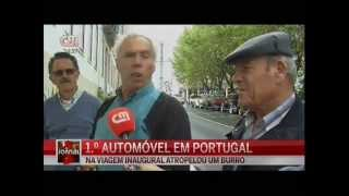 Santiago do Cacem Portugal  city photo : CMTV em Santiago do Cacem com o 1º Carro em Portugal