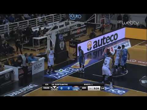 Basket League 2019-2020: ΠΑΟΚ – ΙΩΝΙΚΟΣ ΝΙΚΑΙΑΣ | 18/01/2020 | ΕΡΤ