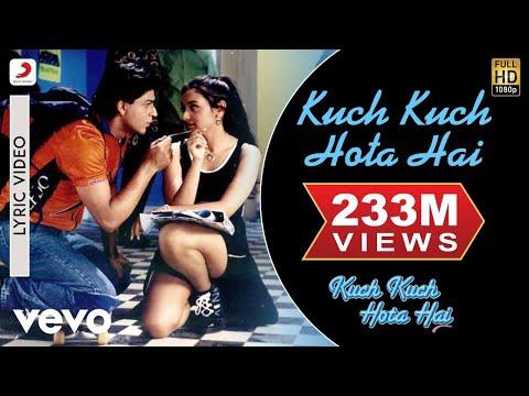Video Kuch Kuch Hota Hai Lyric - Title Track   Shah Rukh Khan   Kajol  Rani Mukherjee download in MP3, 3GP, MP4, WEBM, AVI, FLV January 2017
