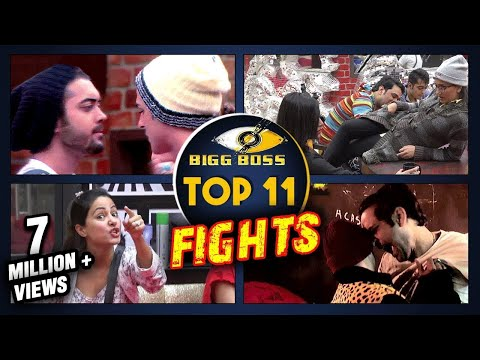 Top 11 FIGHTS In Bigg Boss 11 | Hina Khan, Arshi K