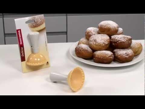 Видео Прочие приспособления для выпечки Tescoma Формочка для пончиков DELICIA Tescoma 630046