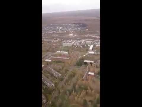 Немного видео вчерашнего полета над южной частью Лесосибирска. Автор: Заря Енисея