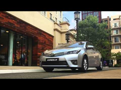 คลิปทีเซอร์โฆษณาเปิดตัว All New Toyota Corolla Altis 2014 จากต่างประเทศ