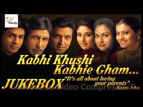 Kabhi Khushi Kabhi Gham All songs  HD 720p