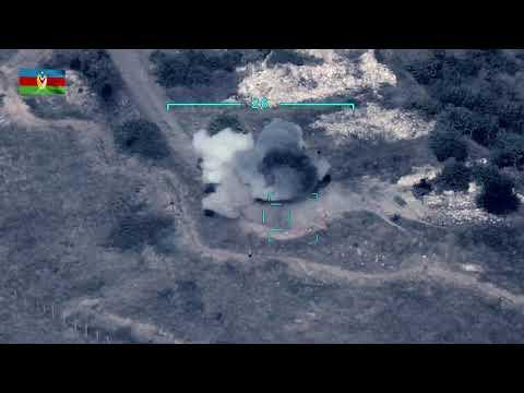 Азербайджан опубликовал видео уничтожения ПВО Армении