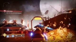 Destiny 2 Red Mamba 3MG Legendary Submachine Gun Gameplay