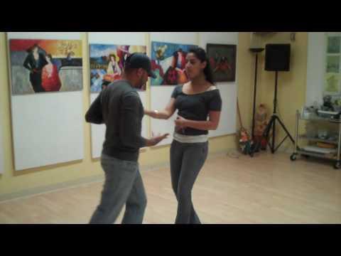 Footworks Studio. Intermediate Salsa, May 18