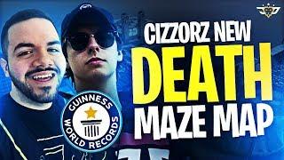 CIZZORZ NEW DEATH MAZE MAP ***WORLD RECORD*** - Creative Mode Puzzle (Fortnite: Battle Royale)