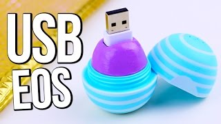 DIY EOS USB Flash Drive ♥ BACK TO SCHOOL - YouTube