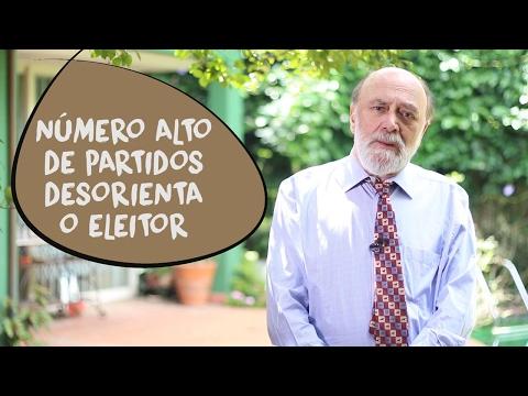 Bolívar Lamounier: excesso de partidos desorienta eleitores
