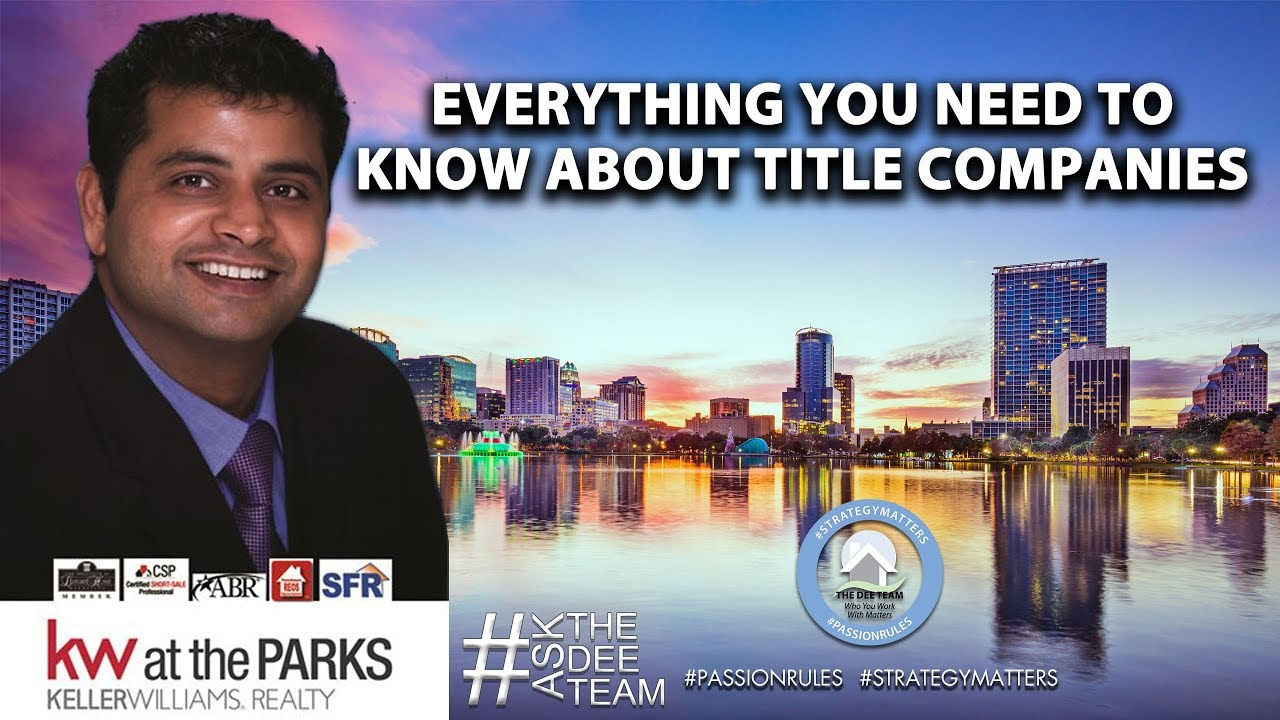 Answering Your Questions About Central Florida Title Companies