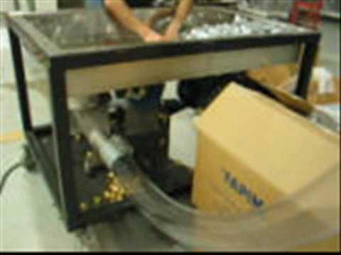 VAC-U-MAX Demonstrating Pneumatic Conveying System at Pack Expo 2010