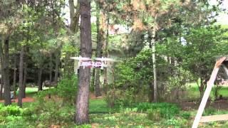 UAir R10 Quadcopter First Flight