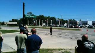 Racine (WI) United States  city photos gallery : President Obama Motorcade - Racine, WI