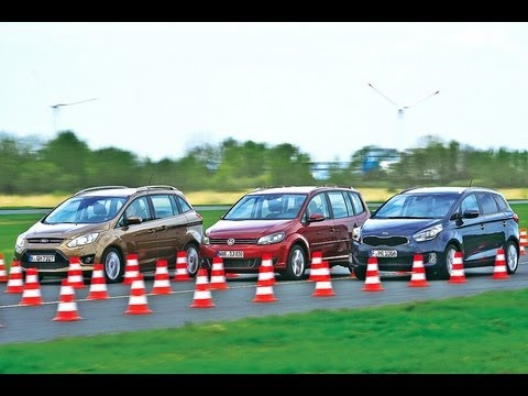 Kia Carens vs. VW Touran vs. Ford Grand C-Max