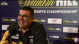 "Jose De Sousa after first Ally Pally win: ""I don't think I can win the World Championship"""