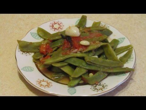 приготовление спаржевой фасоли рецепты видео