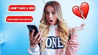 CATFISHING My HUSBAND To See If He CHEATS... ( You Won't Believe this!! ) | Familia Diamond