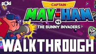 Captain May-Ham vs The Bunny Invaders