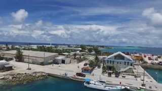 My family vacation to Ebeye Islands to Visit our Family Enjoy the Video! 2015 Dji phantom 3 pro.