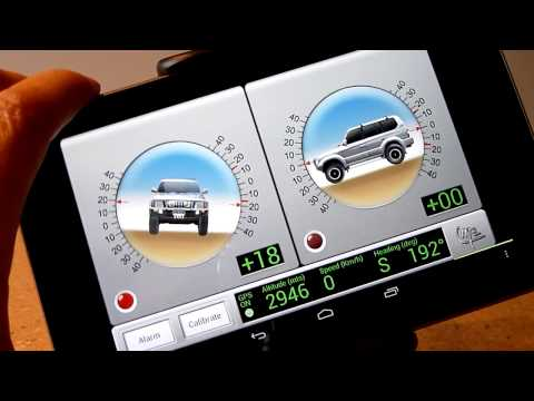 Video of 4x4 Inclinometer PRO